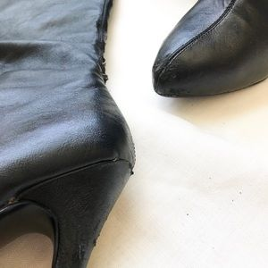 Steve Madden Shoes - Steve Madden Faux Leather Boots
